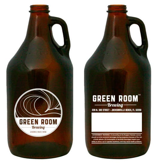 64oz Amber Growler Growler sold by G2 I.D. Source