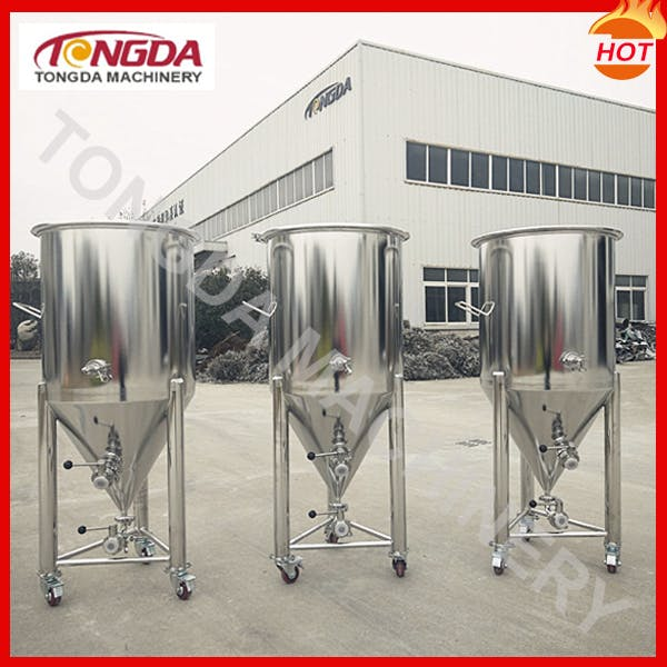 40 Gallons Single-walled Fermenter  Fermenter sold by TD Machinery Co., Ltd.