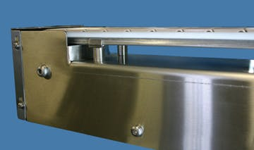 Sanitary Conveyor - Table Top Chain Conveyors - sold by Inline Filling Systems