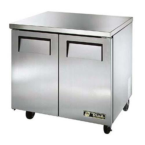 "True - TUC-36-LP 37"" Low Profile Undercounter Refrigerator Commercial refrigerator sold by Food Service Warehouse"