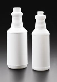 Ringed Carafes Plastic bottle sold by Kaufman Container Company