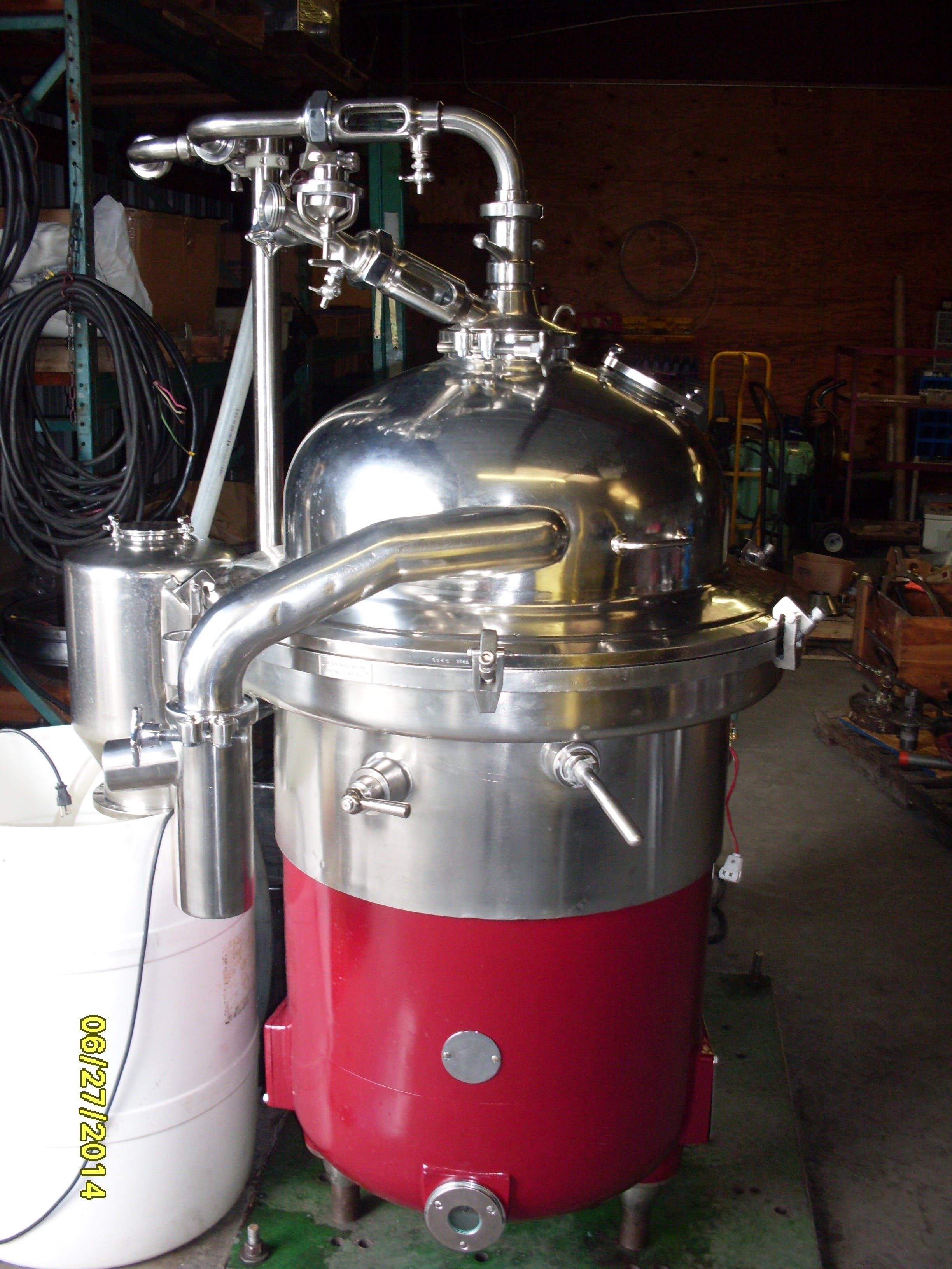 Reconditioned Alfa Laval and GEA Westfalia Disk Stack Centrifuges - sold by Kyte Centrifuge, LLC