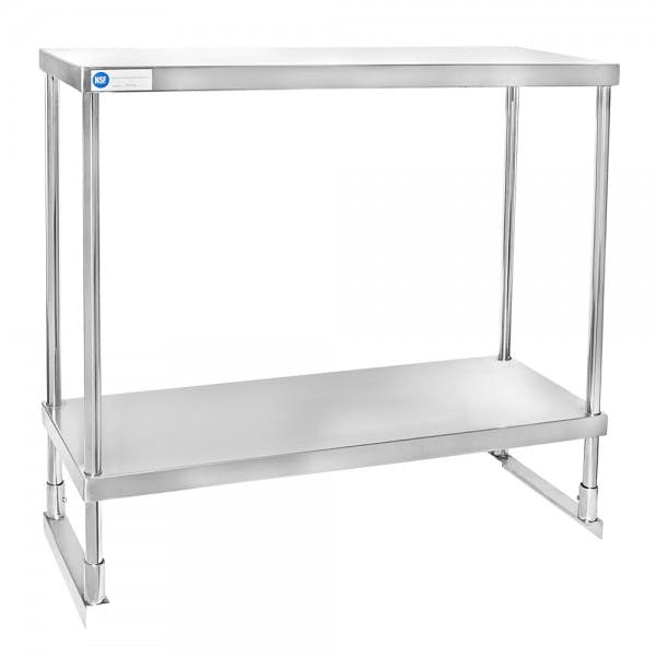 """36"""" Stainless Double Over Shelf"""