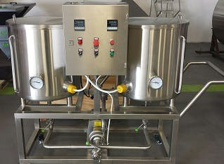 Cip Systems CIP system sold by Alpha Brewing Operations