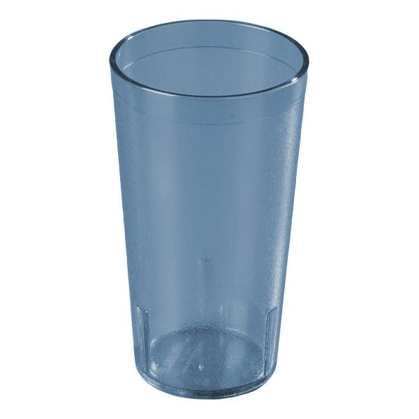 20 oz. Blue Plastic Pebbled Stacking Tumbler