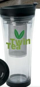 16 Oz. Tea Infusion Tumbler Cup Plastic cup sold by Dechan, Inc. II