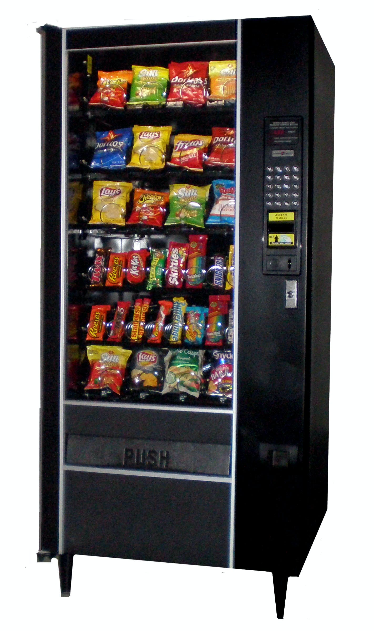 Automatic Products LCM2 snack machine Vending machine sold by Vending World