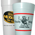 Custom Printed - Styrofoam Cups
