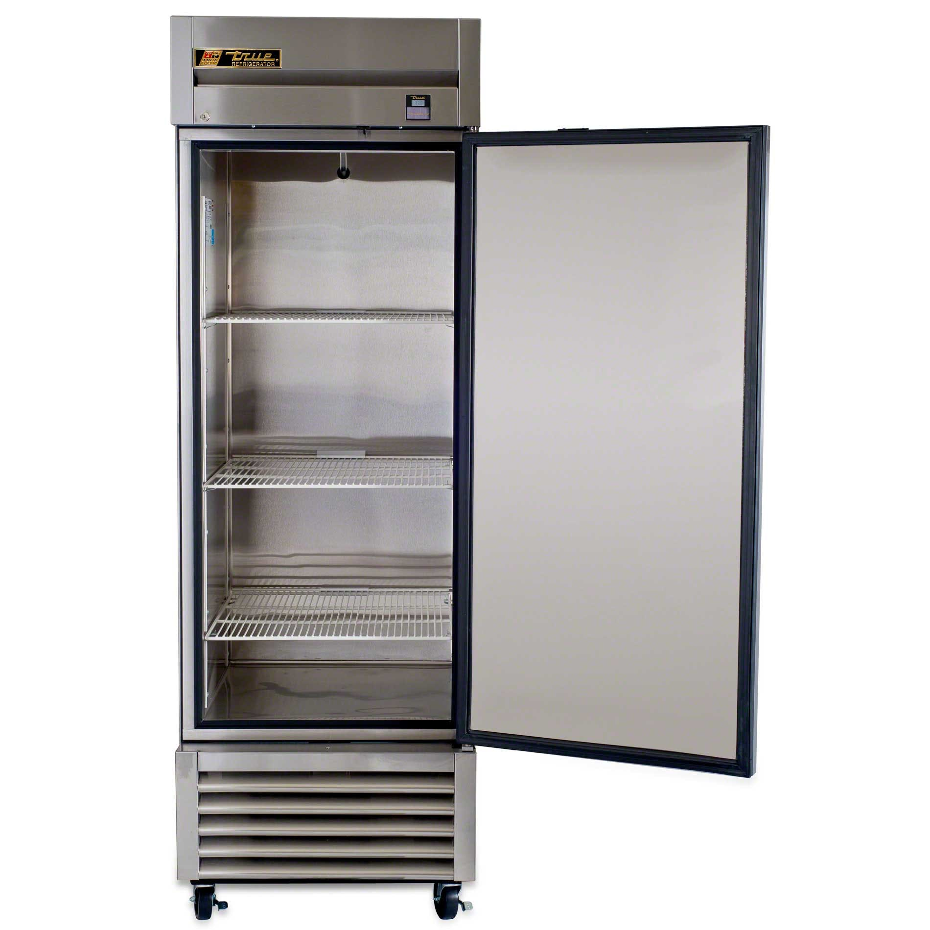 """True ( TS-23 ) - 27"""" Stainless Steel Solid Door Reach-In Refrigerator - 300 Series - sold by Food Service Warehouse"""