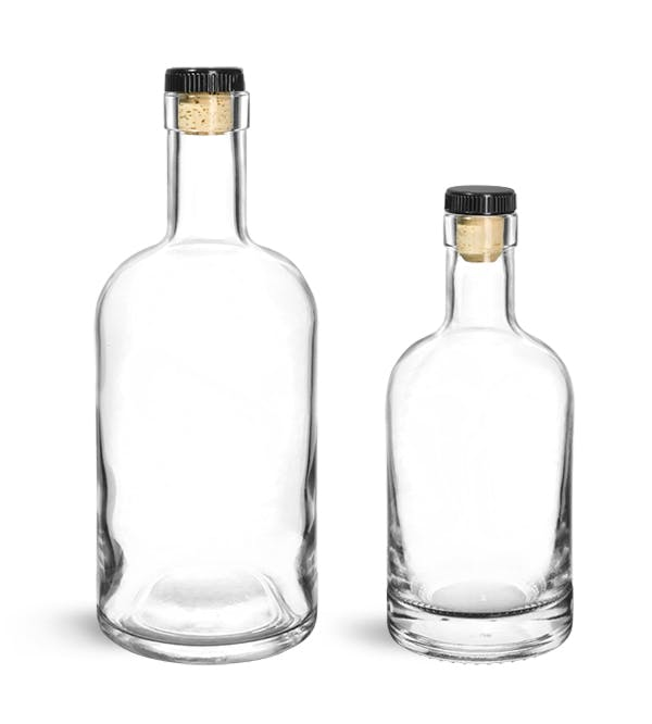 Ml Glass Bottles With Cork