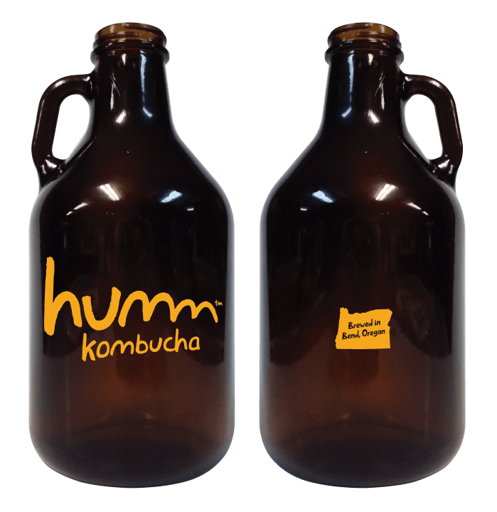 32oz Mini Growler Growler sold by Cascade Graphics