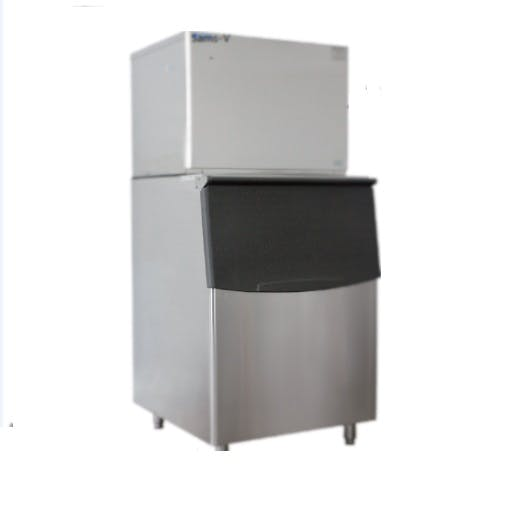 1000 lbs self contained Ice maker with 520 lbs Bin, FC1000A: Sams-V: