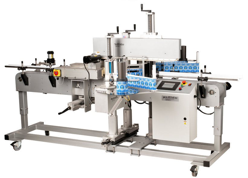 680 Automatic Front and Back Labeling System Bottle labeler sold by MSM Packaging Solutions