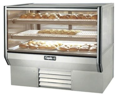 "Leader CBK48-D - 48"" Dry Bakery Display Case - Counter Height Food display case sold by Elite Restaurant Equipment"