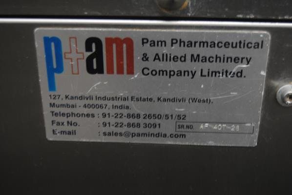 PAM Pharmaceutical model AF40T Capsule Filler Capsule filler sold by Union Standard Equipment Co