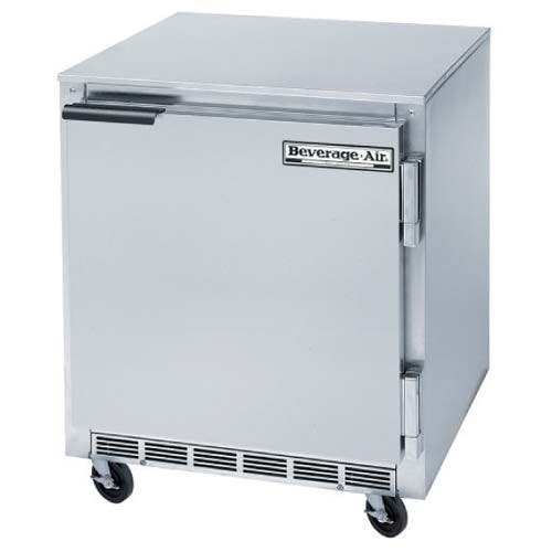 "Beverage Air - UCR27A-29 - Undercounter Refrigerator w/ Thermometer - 27"" Commercial refrigerator sold by Elite Restaurant Equipment"