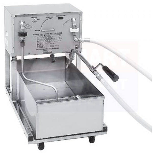 55 lbs. Mobile Fryer Filter w/ Reversible Pump
