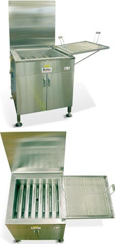 Belshaw Adamatic by Unisource 724CG - Gas Open Kettle Fryer Commercial fryer sold by Elite Restaurant Equipment