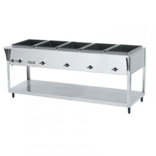ServeWell® SL 120v 5 Well Hot Food Table - V-VOL38215