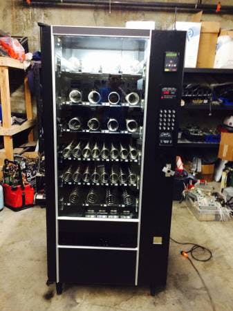 Refurbished Snack Vending machines Vending machine sold by One Stop Vending Solutions Inc