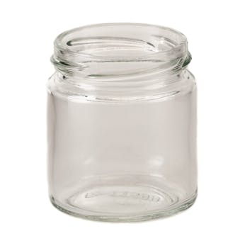 4 oz Straight-Sided Jars 58 Lug Glass Jar sold by Fillmore Container Inc