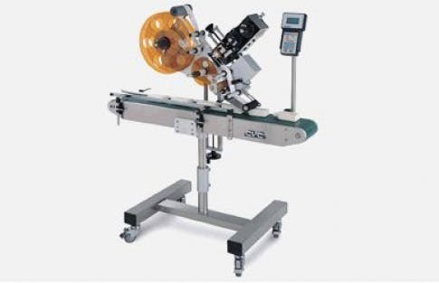 Top Labelers, Model 200 Bottle labeler sold by ACASI Machinery