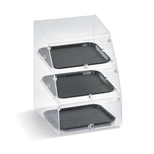 3 Tray Slanted Front Display Case - VOLMBC1014-3F-06