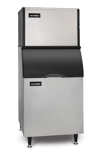 Cube ICE Maker, air-cooled, approximately 706 lb production/24 hours, half-size cubes Ice machine sold by TheRDStore.com