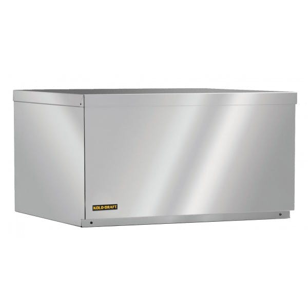 216 lbs. Stainless Cube Ice Maker