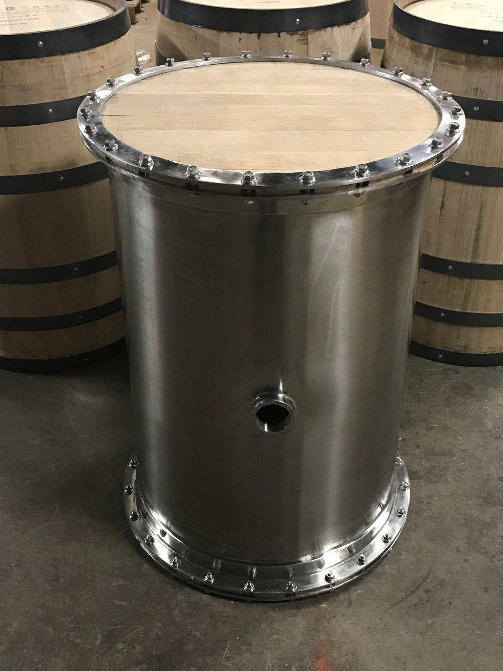 Titan 53 Gallon Whiskey Barrel - sold by Titan Barrel Works