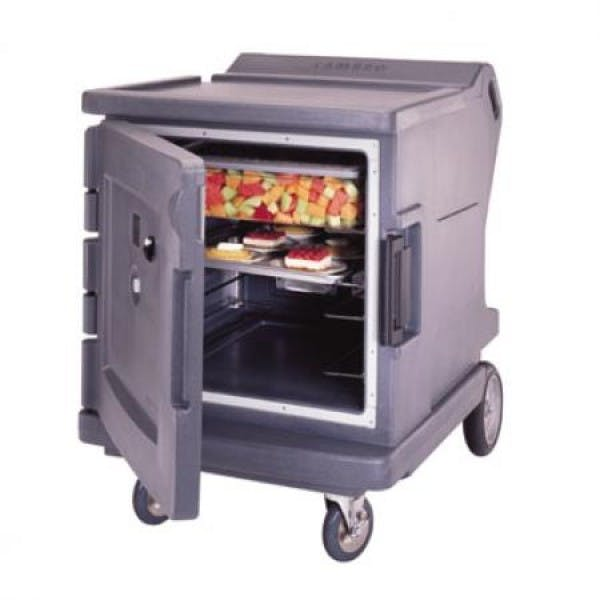 110v Granite Gray Camtherm Low Profile Hot Cart - C° Thermometer