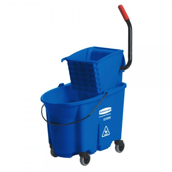 WaveBreak® 35 qt. Blue Mop Bucket & Wringer