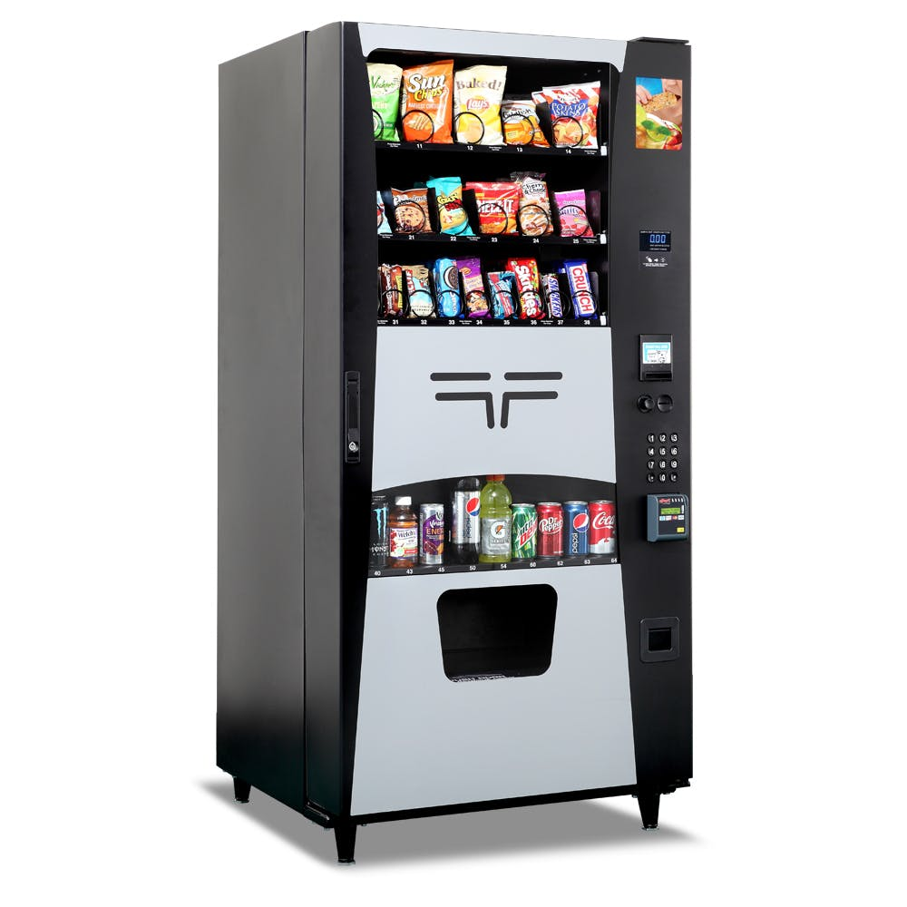 Futura Snack Drink Combo Vending Machine - sold by eVending.com