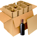 12-Bottle Shipper - Wine shipper sold by Midstates Packaging