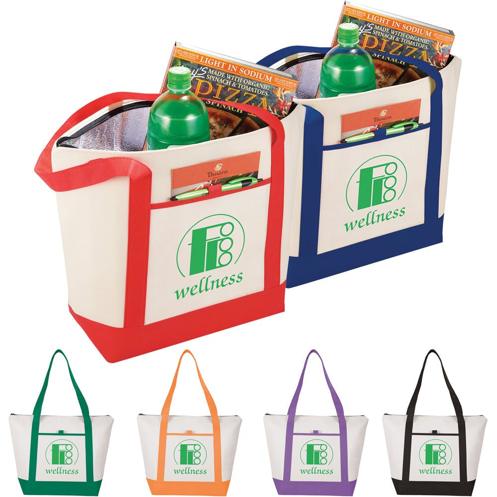 Insulated Tote Cooler (Item # DINMQ-JBCIZ) Insulated cooler sold by InkEasy