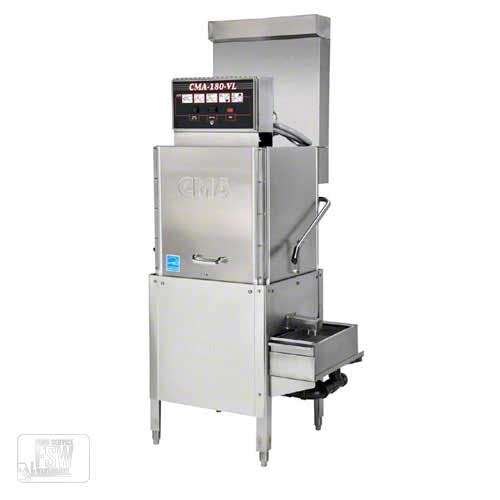 CMA Dishmachines - CMA-180-VL 40 Rack/Hr Ventless Door-Type Dishwasher Commercial dishwasher sold by Food Service Warehouse