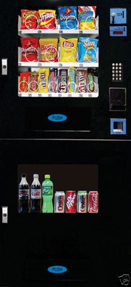 Shermco vending model 10 combo vending machine Vending machine sold by Shermco Vending