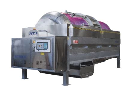 ATI Soft Press Pneumatic Wine Press with Central Elastomeric Membrane