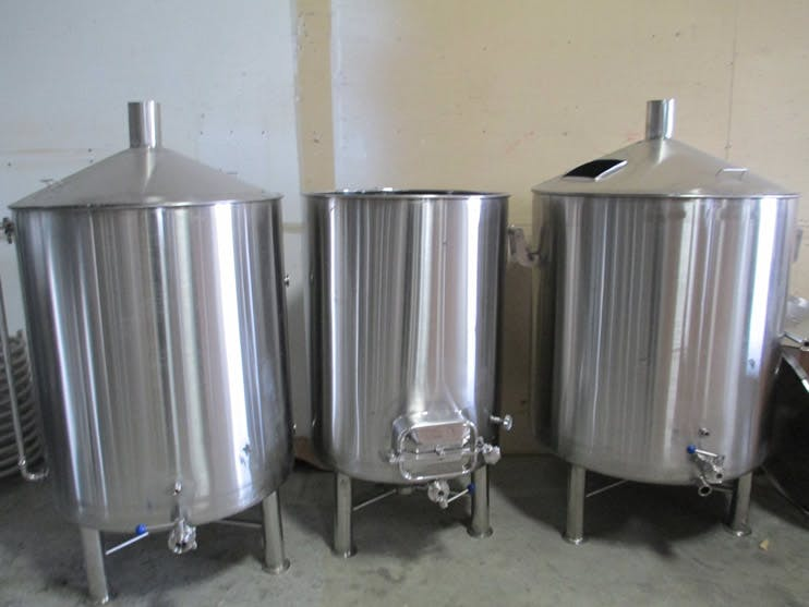 5 Barrel Open-Top Brewing System Brewhouse sold by BC Packaging Service Brew-Stuff