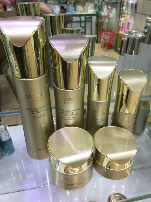 High End Cosmetic packaging Cosmetics bottle sold by Luscan Group