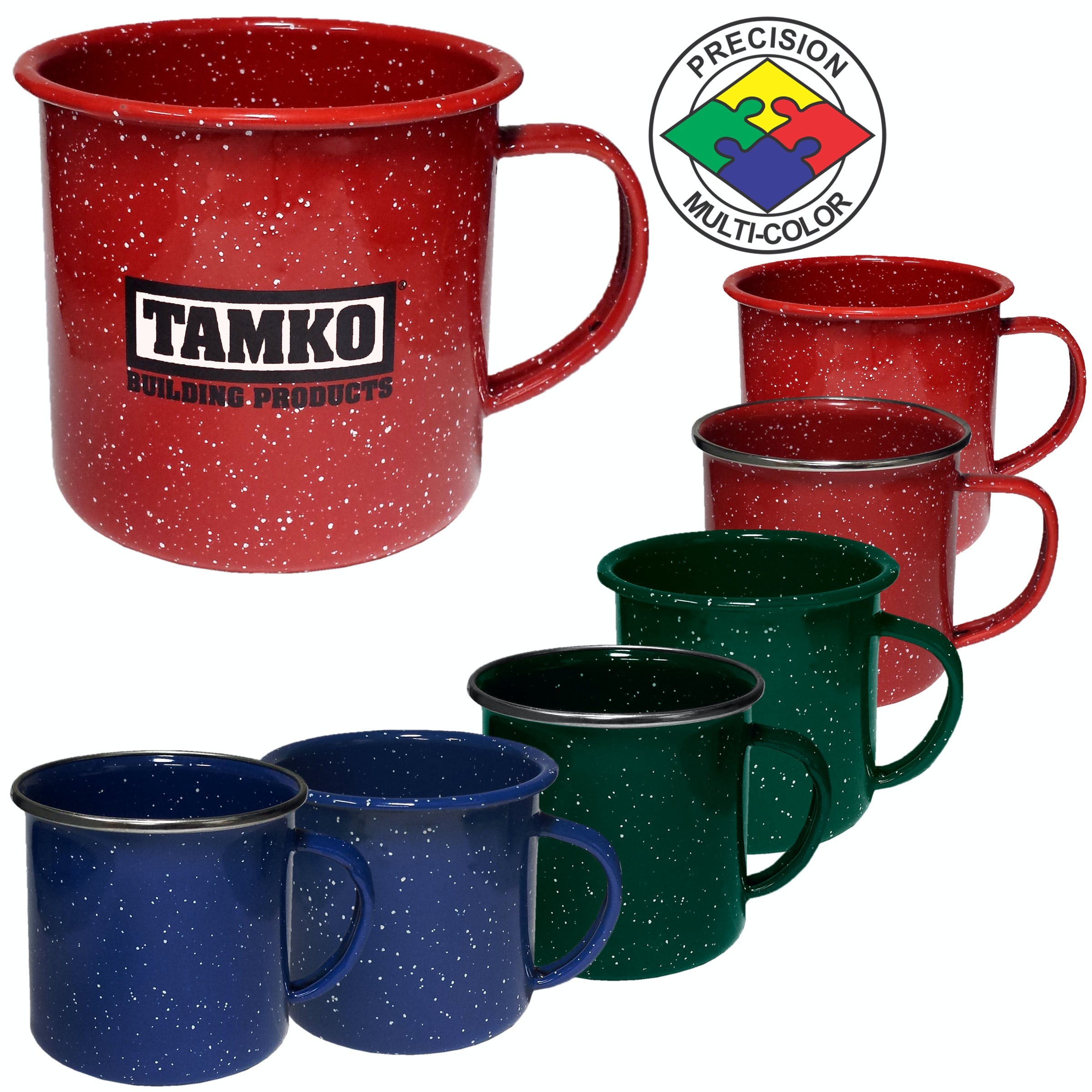 12 oz Enameled Steel Cups