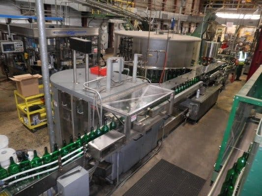 US Bottlers High Speed Liquor Filling line - sold by Union Standard Equipment Co