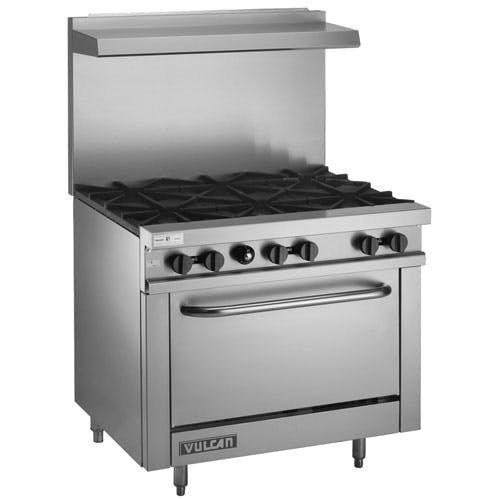 "Vulcan-Hart (V36-1) - 36"" Gas Open Burner Restaurant Range Commercial range sold by Food Service Warehouse"