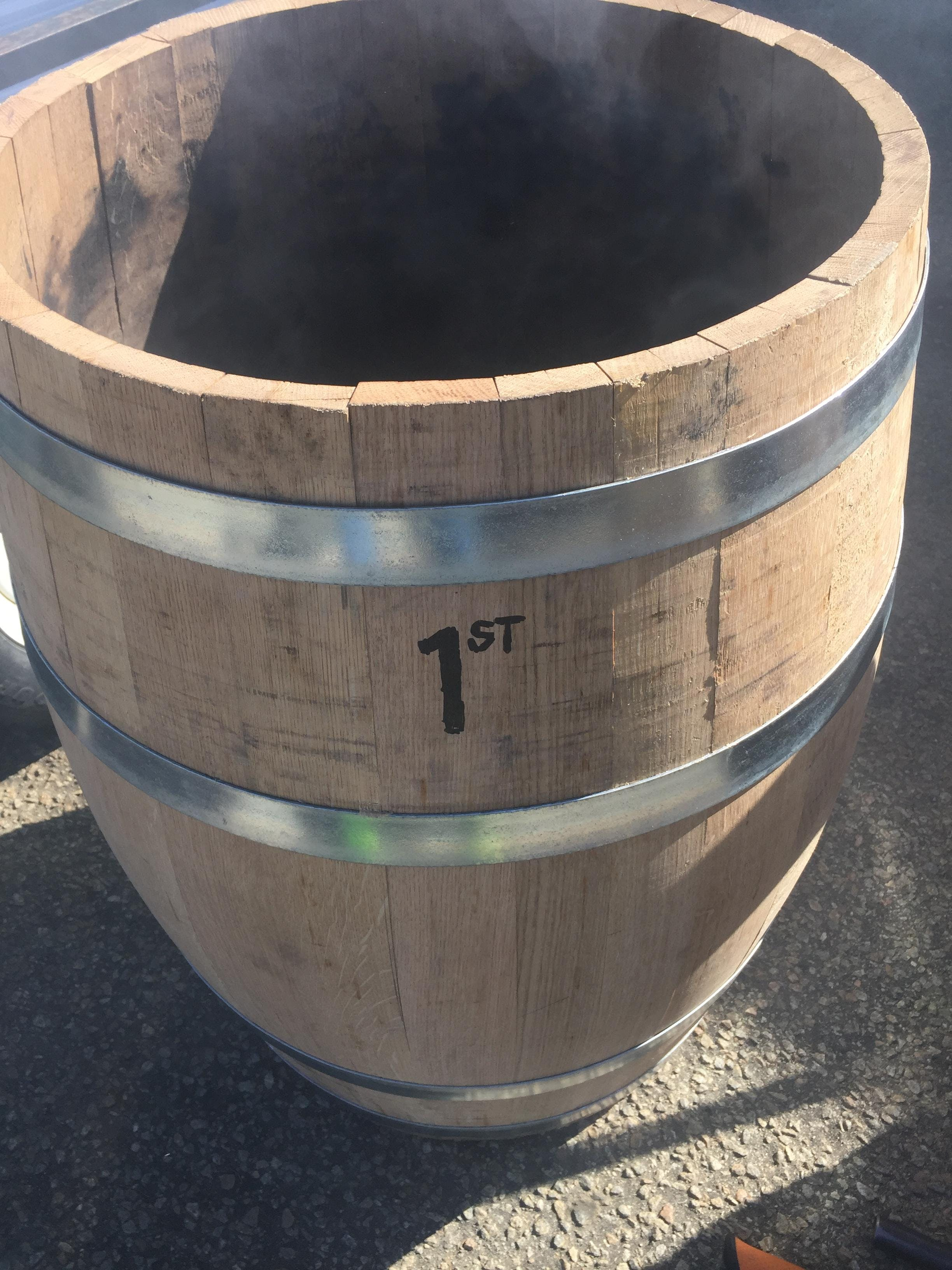American White Oak Barrel Barrel sold by Black Water Barrels