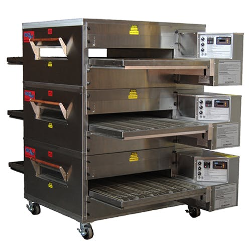EDGE 40 Series Triple-Stack Gas Conveyor Pizza Oven Commercial oven sold by Pizza Solutions