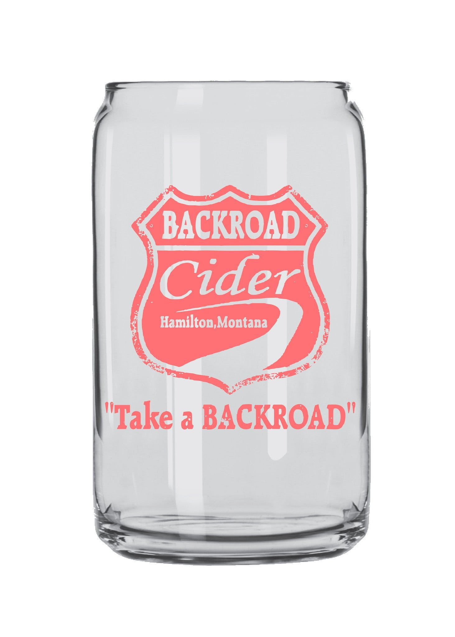 Arc Beer Can Glass 16 oz. - sold by Clearwater Gear