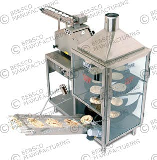 Beta 900 Flour Tortilla Machine Tortilla press sold by BE&SCO