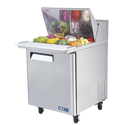 Turbo Air MST-28-12 M3 Series Sandwich/Salad Unit, 8 cu. ft. Food prep table sold by Mission Restaurant Supply