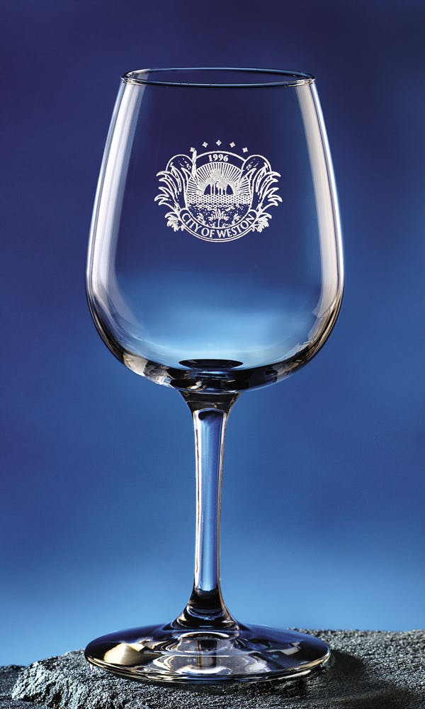 #8552 - 12 oz. Taster's Wine Wine glass sold by Engraving Creations and More, Inc.