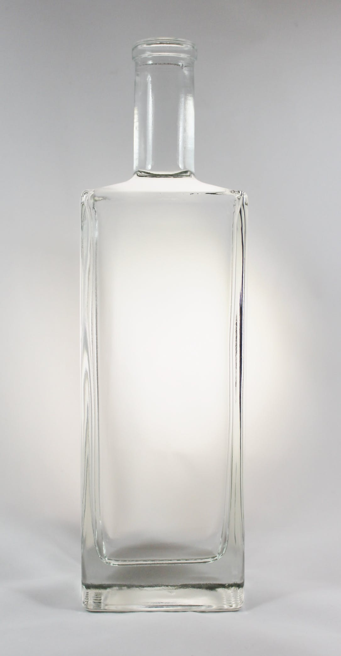 750 ml Liberty Rectangle Bar Top Liquor bottle sold by Wm. R. Hill & Company